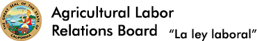 Agricultural Labor Relations Board Logo